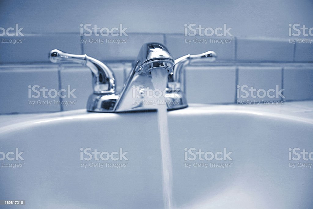 bath room sink royalty-free stock photo