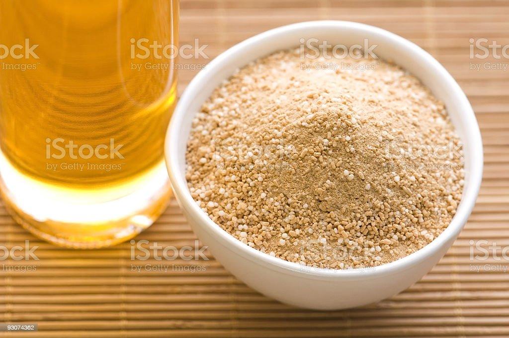 bath salt and oil royalty-free stock photo