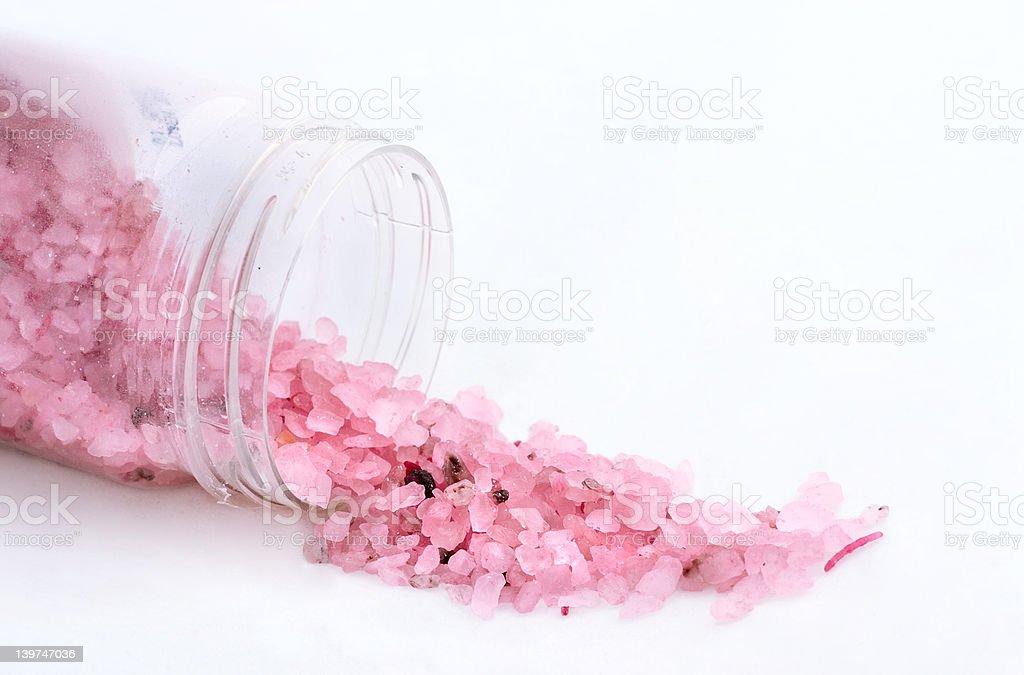 bath salt close -up royalty-free stock photo