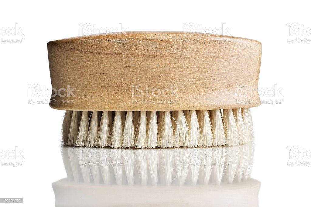 Bath scrub brush royalty-free stock photo