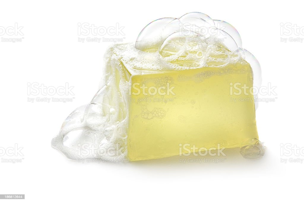 Bath: Soap stock photo
