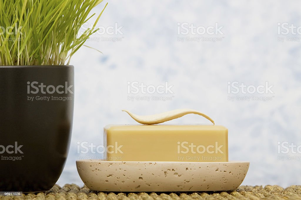 Bath soap royalty-free stock photo