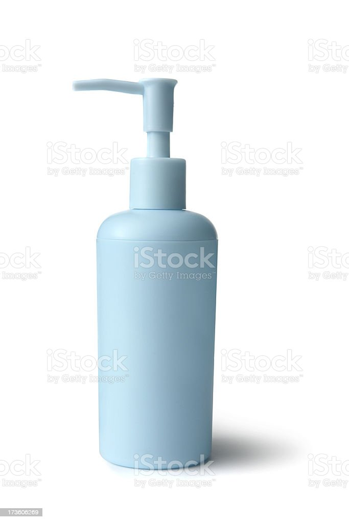 Bath: Soap Pump Bottle royalty-free stock photo
