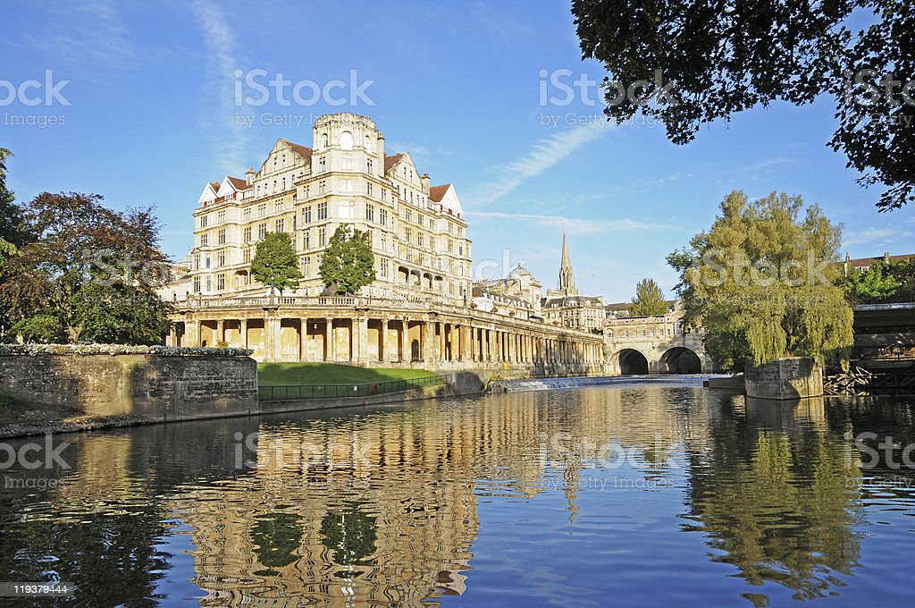 Bath, Somerset, England, UK stock photo