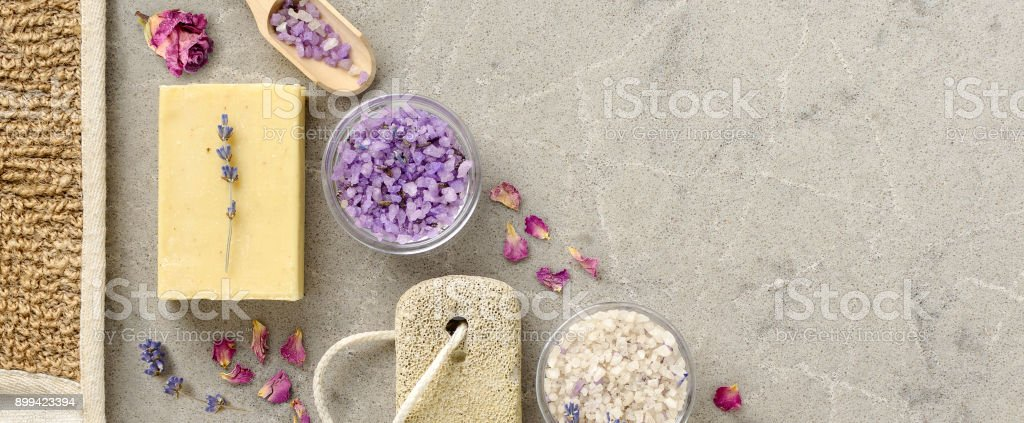 Bath Spa Accessories With Handmade Soap Stock Photo & More Pictures ...