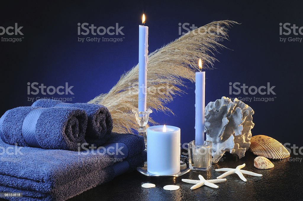 & da bagno Spa foto stock royalty-free