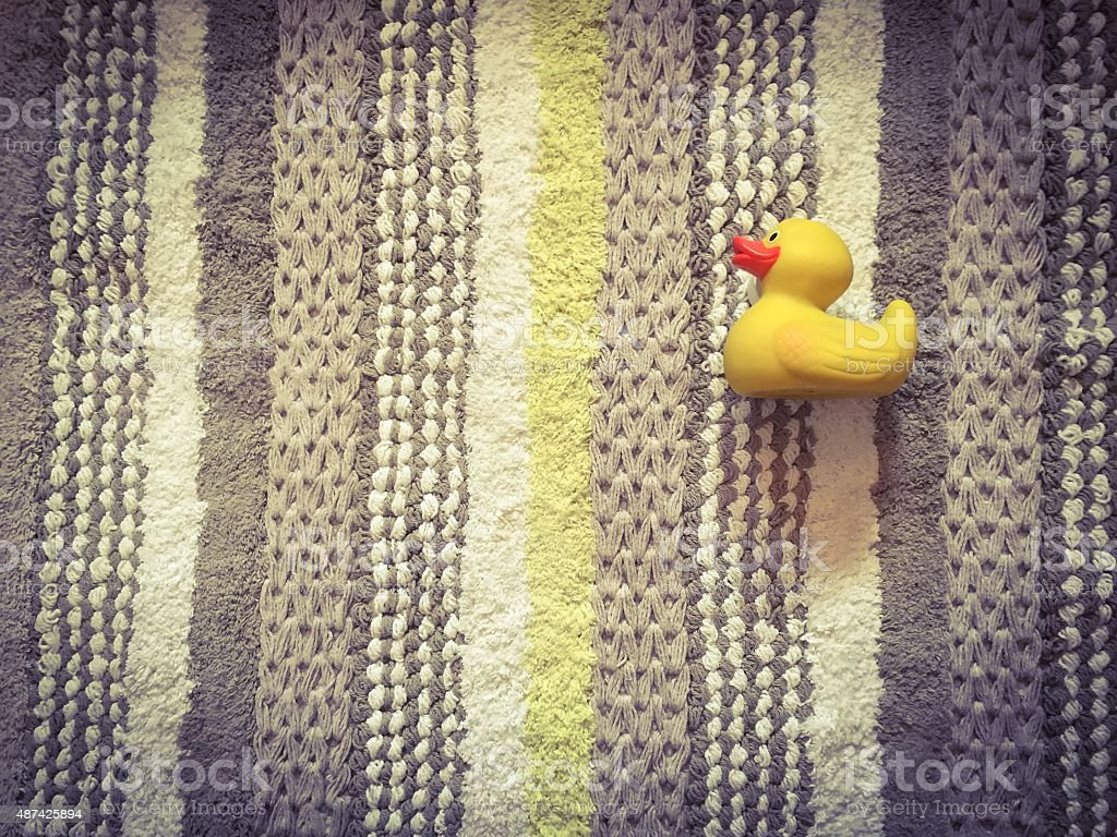 Bath time play Mat stock photo