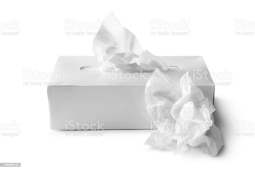 Bath: Tissues royalty-free stock photo