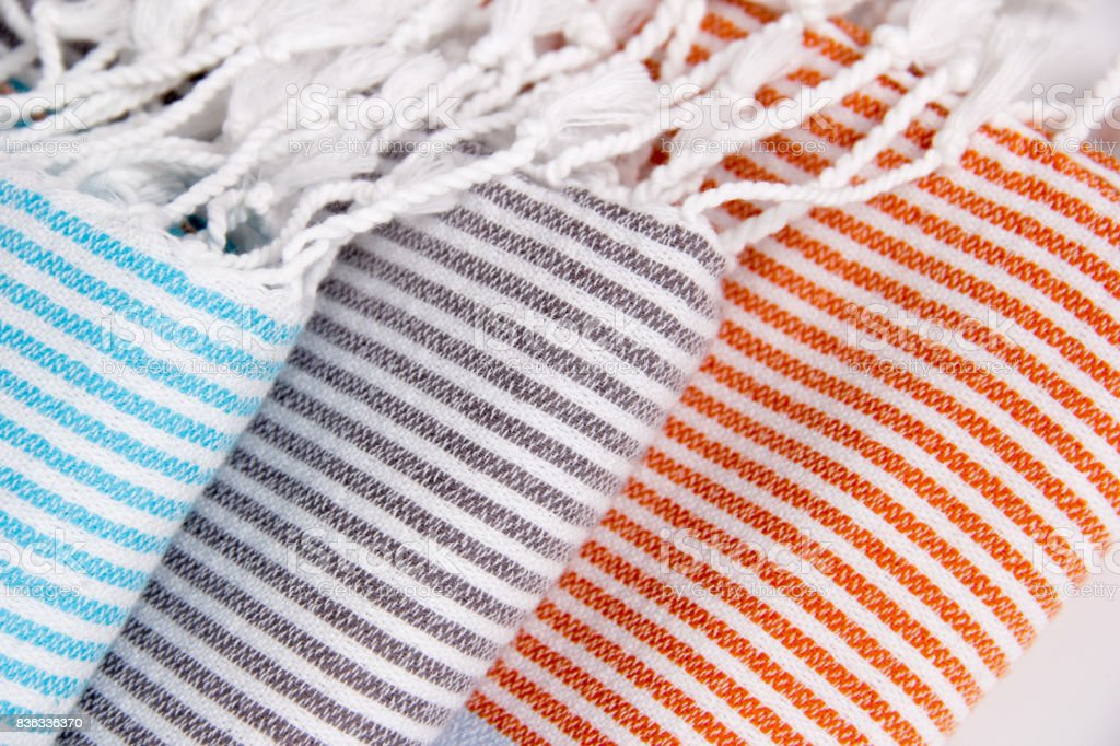 Bath Towel Close-up stock photo