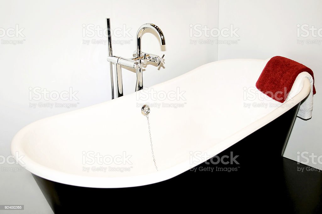 Bath towel royalty-free stock photo