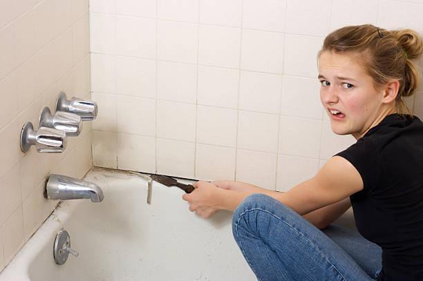 Banheira de renovação - foto de acervo
