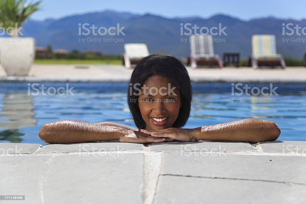 bathing beauty stock photo