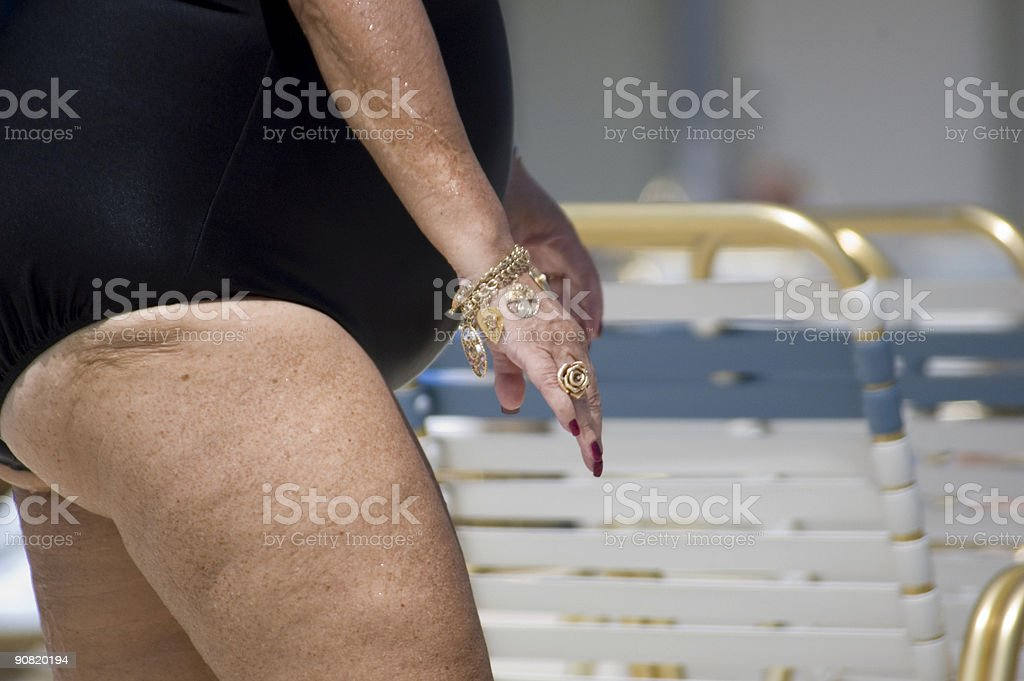 bathing suit stock photo