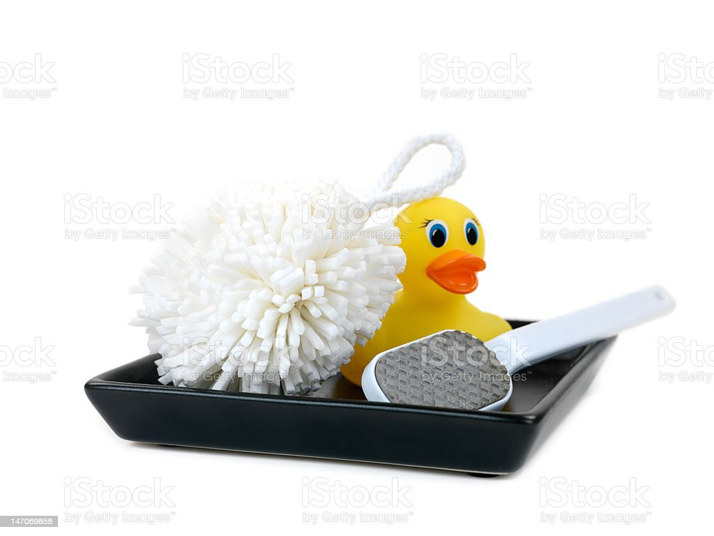 Bathing Time royalty-free stock photo