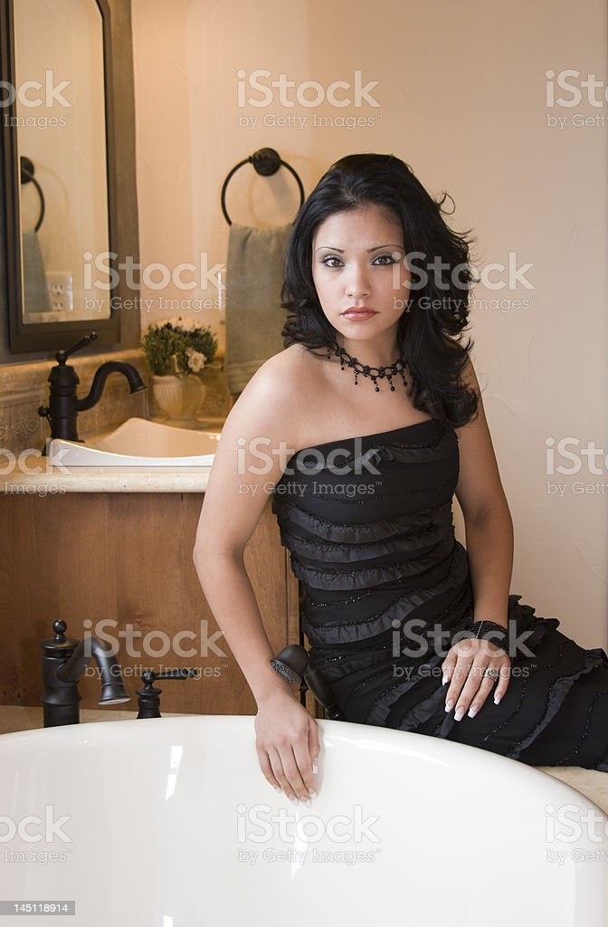 Bathroom Beauty royalty-free stock photo
