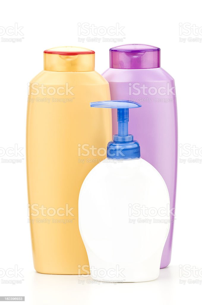 Bathroom Bottles royalty-free stock photo