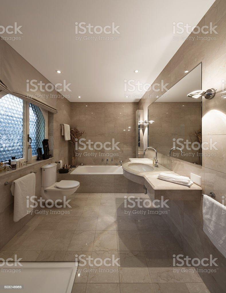 Bathroom, Classic Design Royalty Free Stock Photo