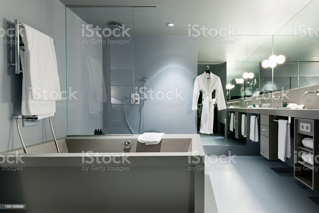 Bathroom Contemporary Modern Architecture royalty-free stock photo