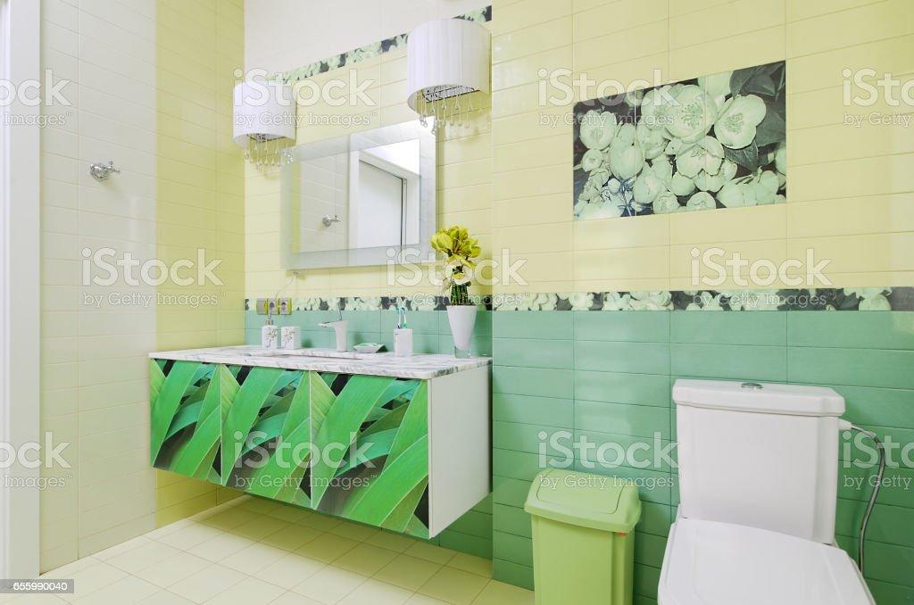 hermosas fotos de diseño de baño Diseo De Cuarto De Bao Con Hermosa Hierba Imprimir En