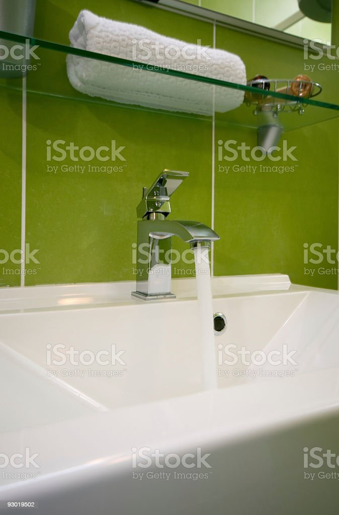 Bathroom detail royalty-free stock photo