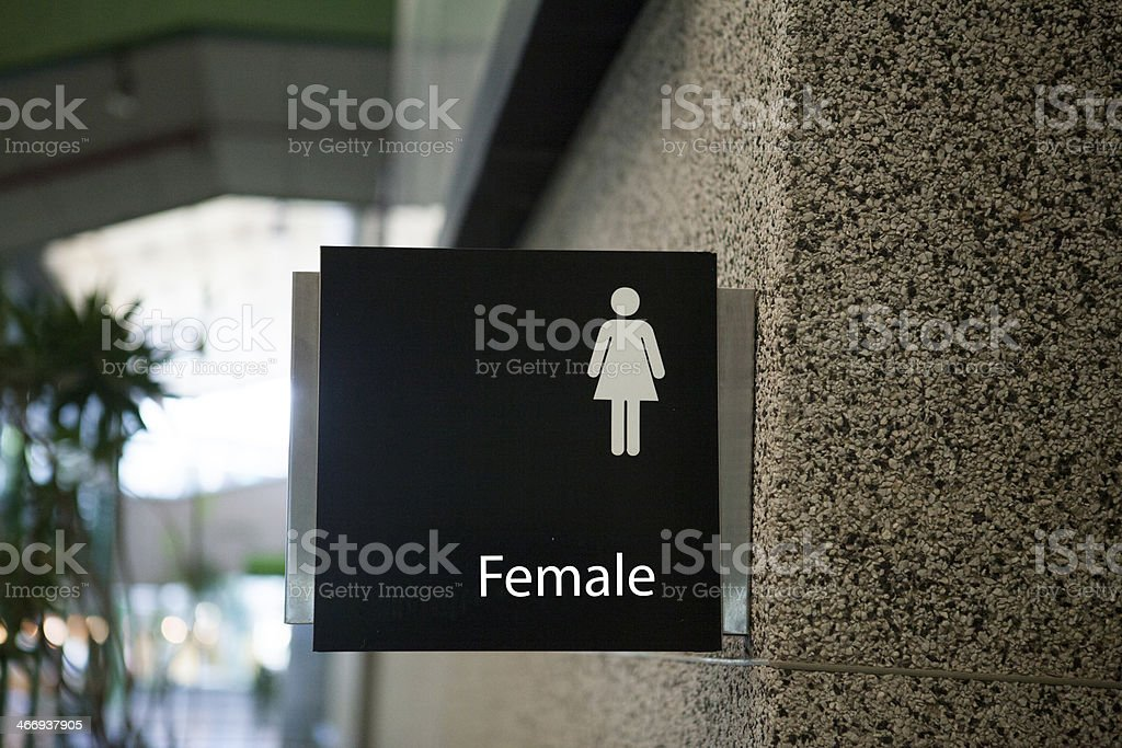 Bathroom Female royalty-free stock photo