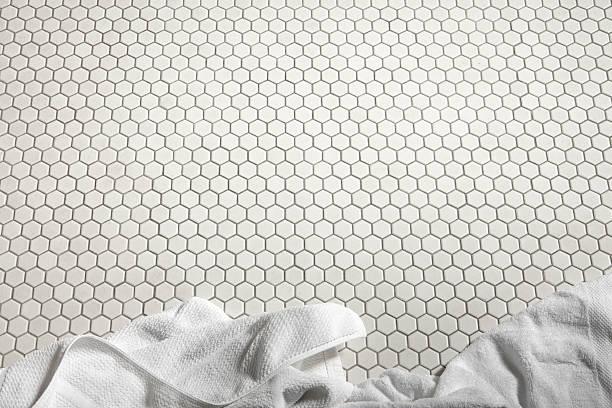 Bathroom Floor Stock Photo