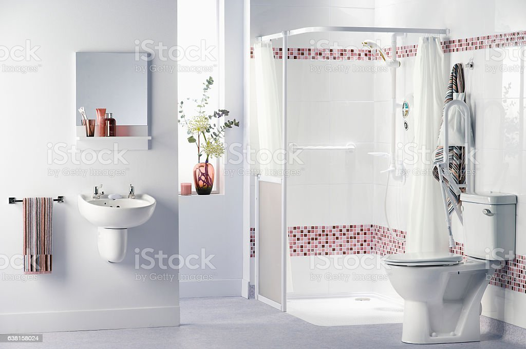 Bathroom For Disabled Stock Photo & More Pictures of Accessibility ...