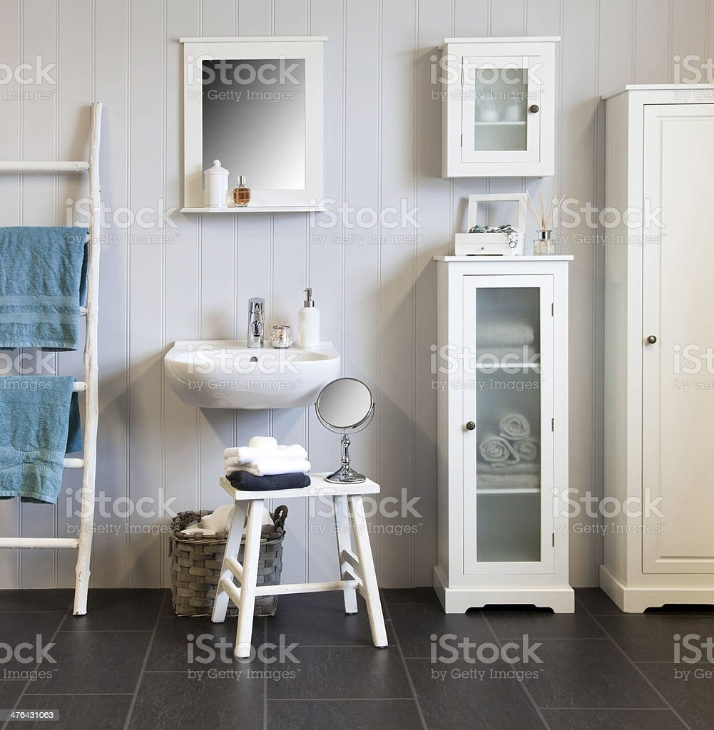 Bathroom In Classic Style stock photo