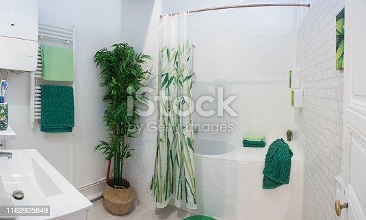 Zen-like bathroom