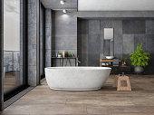 Bathroom In New Luxury Home