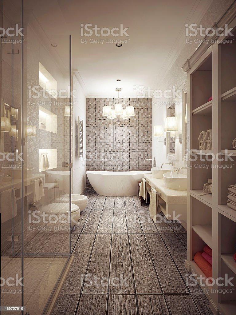 Salle De Bain Provencale photo libre de droit de salle de bains de style provençal