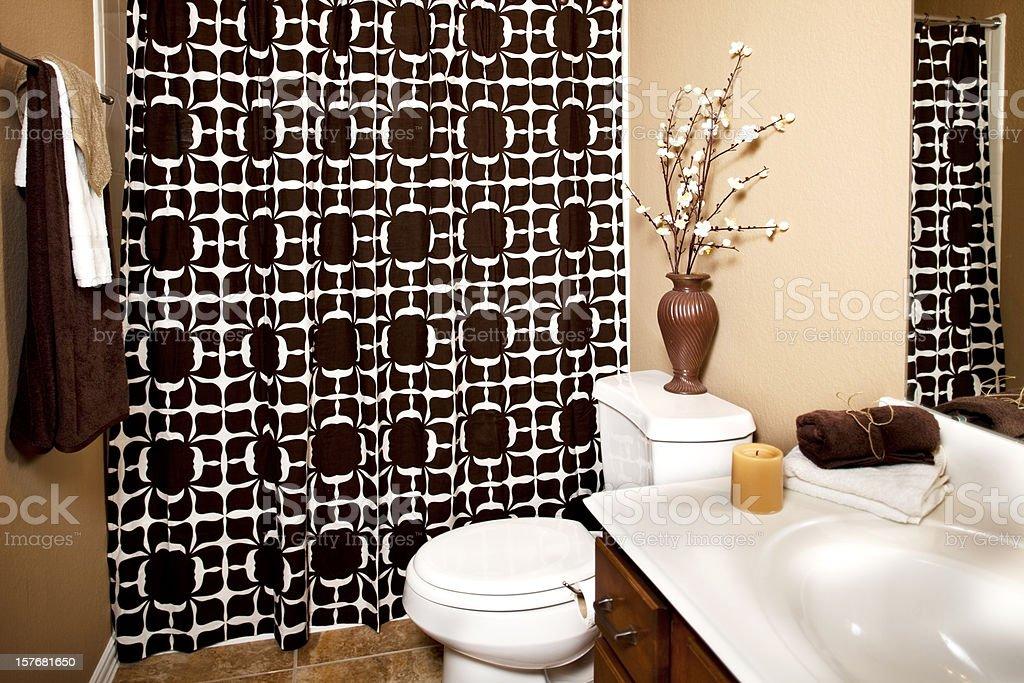 Bathroom in upscale home.  XXXL stock photo