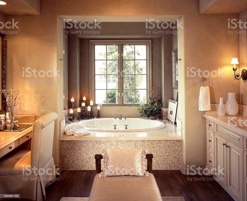 Bathroom Interior Home Design stock photo