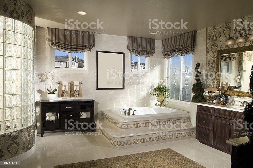 Bathroom Interior Home Design royalty-free stock photo