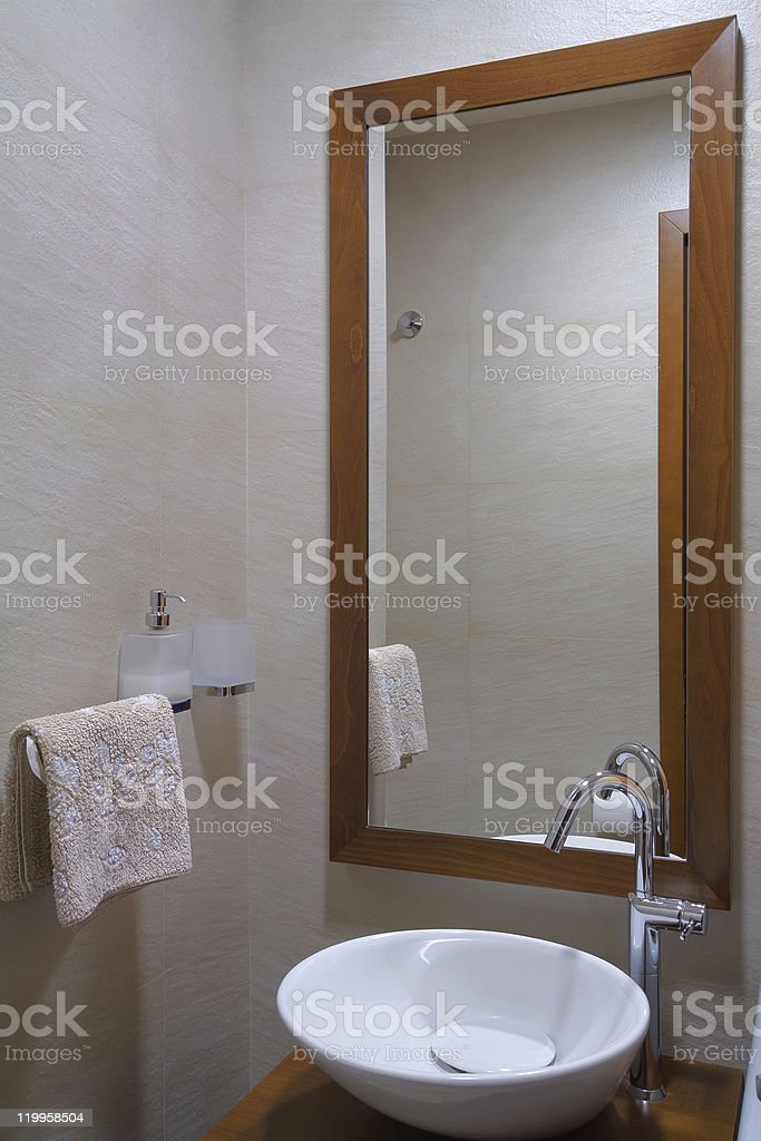 Bathroom interior royalty-free stock photo