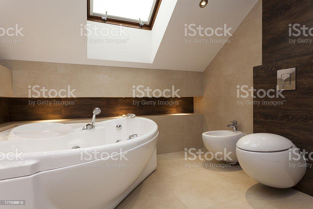 Bathroom interior royalty-free stock photo