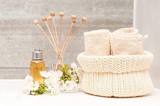 badezimmer innen – bild - sauna textilien stock-fotos und bilder