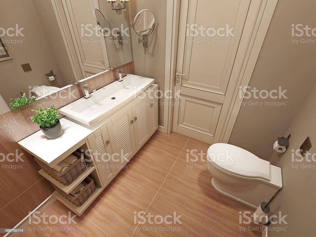 Badezimmer Modernes Design Stockfoto und mehr Bilder von ...