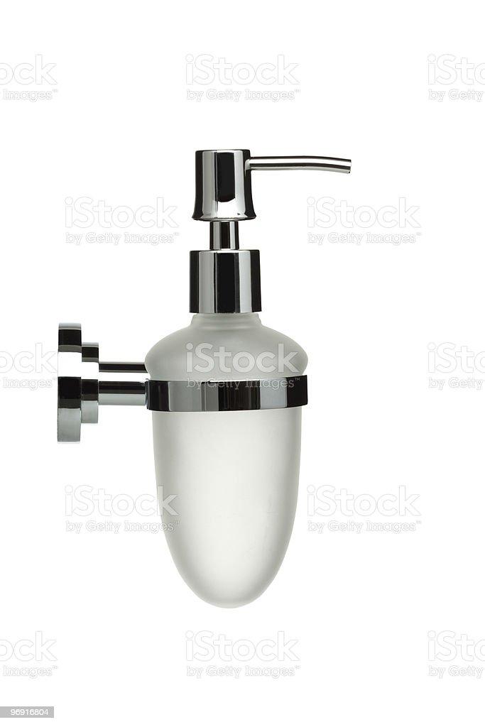 bathroom object series - liquid soap dispenser royalty-free stock photo