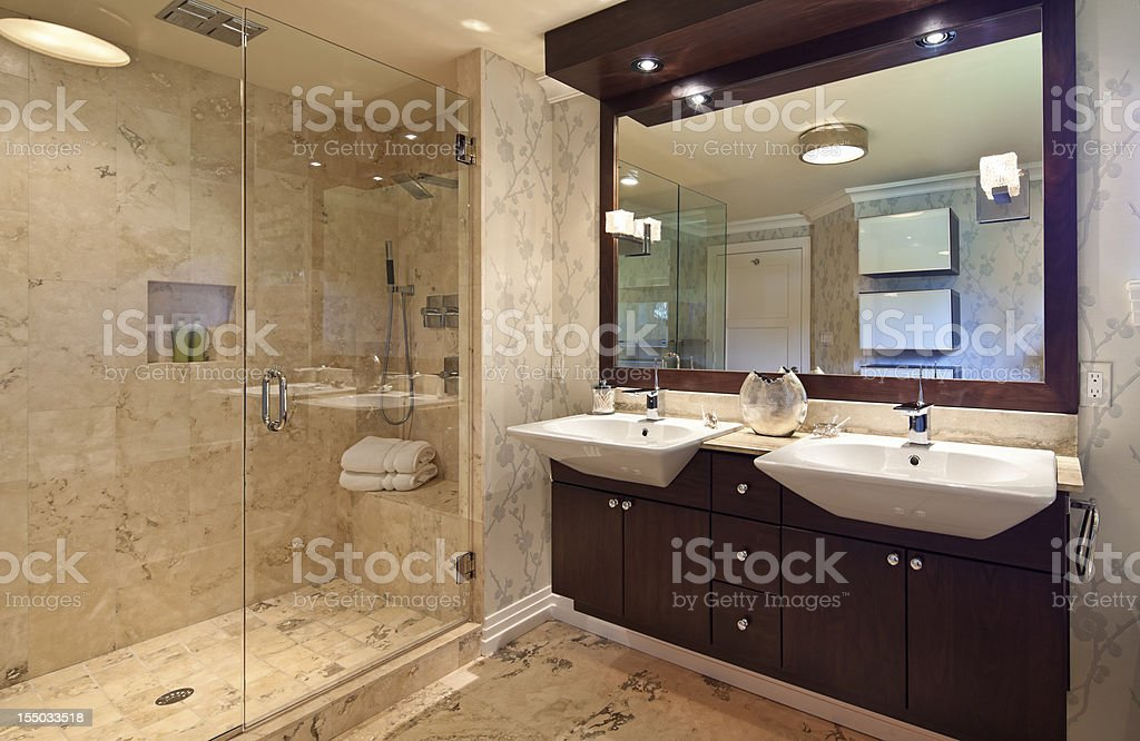 Bathroom stock photo