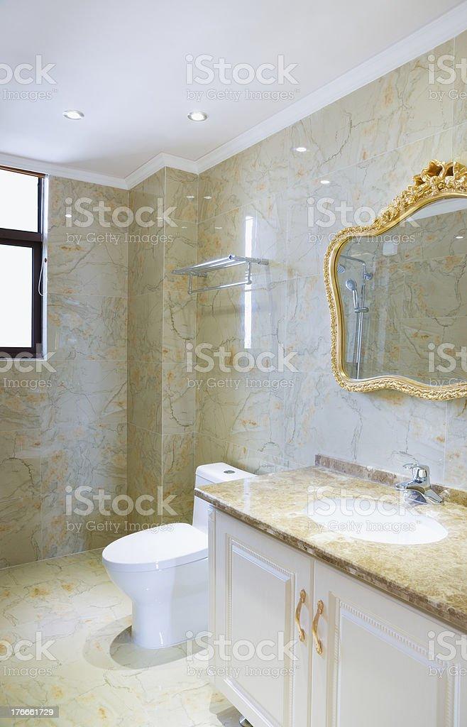 bathroom royalty-free stock photo