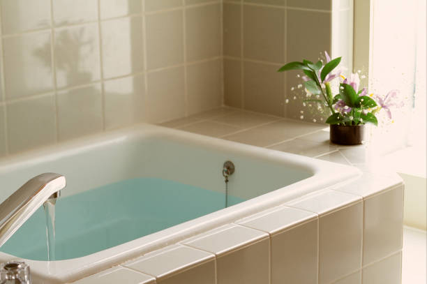 Bathroom Bathroom bathtub stock pictures, royalty-free photos & images