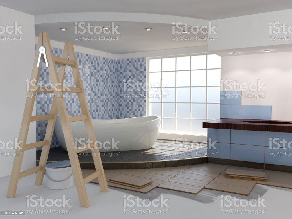Bathroom renovation – zdjęcie