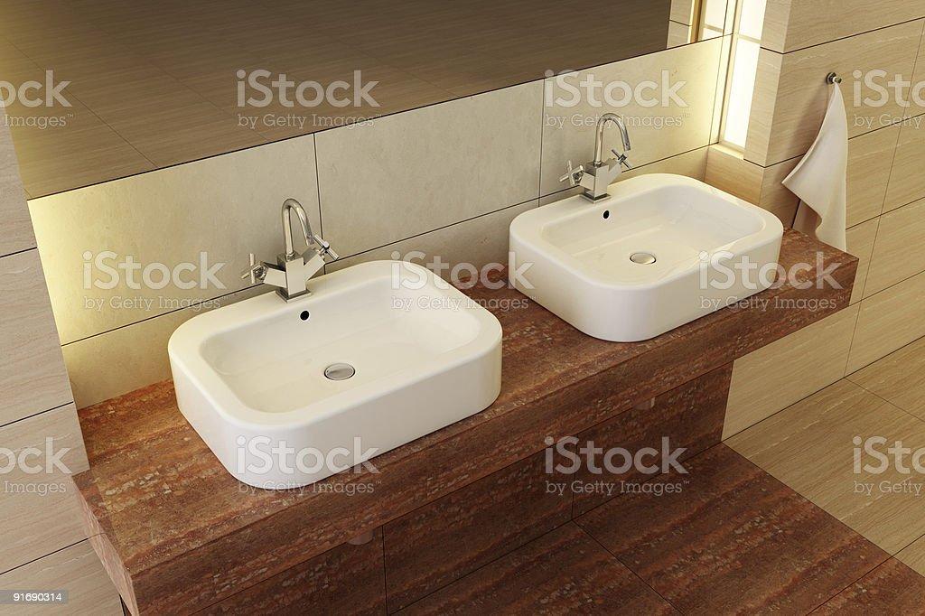 bathroom room interior royalty-free stock photo