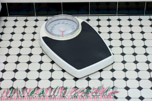 Bathroom Scale Stock Photo - Download Image Now