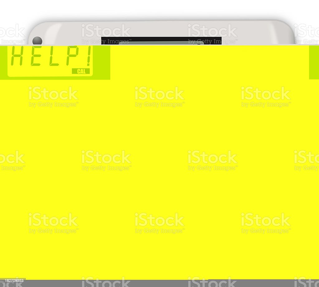 Bathroom Scale royalty-free stock photo