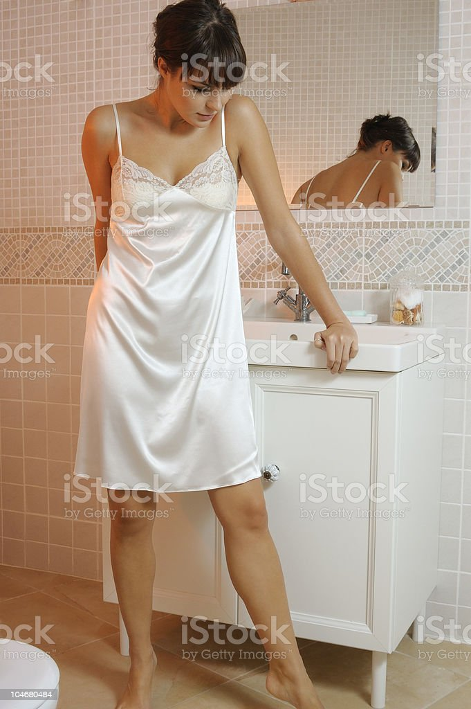 Bathroom series stock photo