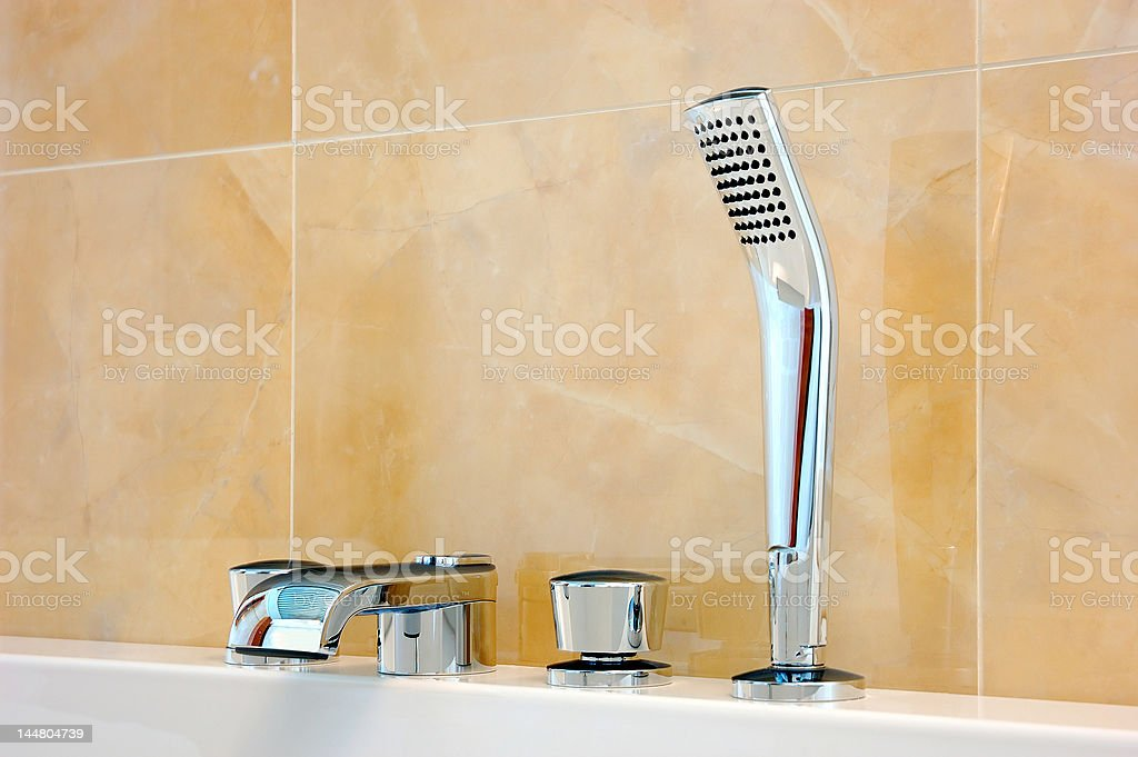 bathroom set royalty-free stock photo