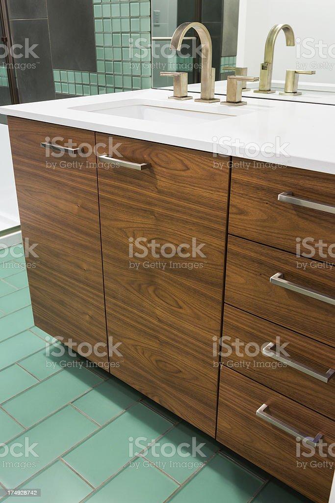 Bathroom Sink and Vanity royalty-free stock photo
