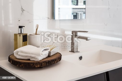 istock Bathroom sink 498190954